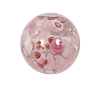 Handmade Round Glass Bead #7654 Pink 12mm (12 Pieces)