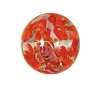 Handmade Round Glass Bead #7654 Red 12mm (12 Pieces)