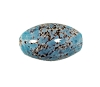 Handmade Oval Bead #7684 Turquoise 12x9mm (12 Pieces)