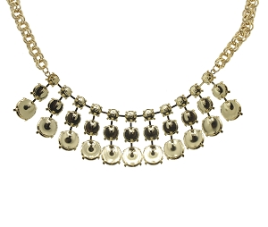 Necklace Setting #7900 Gold for 1088/1122 Stones (1 Piece)