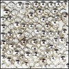 Brass Beads #301 3mm Silver (144 Pieces)