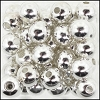 Brass Beads #304 6mm Silver (144 Pieces)
