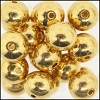Brass Beads #305 8mm Gold (144 Pieces)