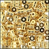 Brass Beads #353 7x5mm Gold (144 Pieces)