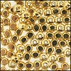 Brass Beads #369 5mm Gold (144 Pieces)