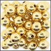 Brass Beads #374 10mm Gold (100 Pieces)