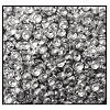 Calottes (Metallic Studs) #3903 #3 Aluminum (50,000 Pieces) - CLEARANCE