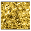 Calottes (Metallic Studs) #3906 #8 Gold (10,000 Pieces) - CLEARANCE