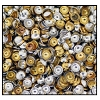 Calottes (Metallic Studs) #3905 #5 Gold & Aluminum Mix (50,000 Pieces) - CLEARANCE