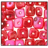 Dobu Shell Chips #2577 8mm Hot Pink (144 Pieces)