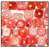 Dobu Shell Chips #2577 8mm Orange (144 Pieces)