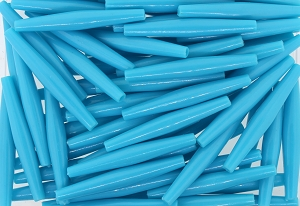 Plastic Hairpipe Beads #4071 2.5