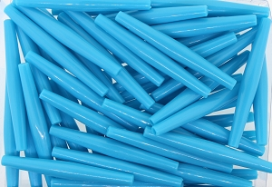Plastic Hairpipe Beads #4071 3