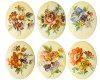 Porcelain Paintings #3530 25x18mm 6 Scenes (12 Pieces) - CLEARANCE