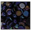 Machine Pressed Flatback Rhinestones #5015 SS12 Blue Iris (1,440 Pieces)  - CLEARANCE