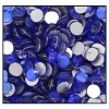 Machine Pressed Flatback Rhinestones #5015 SS12 Dark Sapphire (1,440 Pieces)  - CLEARANCE