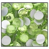Machine Pressed Flatback Rhinestones #5015 SS9 Peridot (1,440 Pieces)  - CLEARANCE