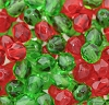 Round Fire Polished Bead #3150MX 6mm Christmas Mix (LOOSE) (1,200 Pieces)