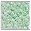 Seed Bead #2100 6/0 37154 Light Green Opaque Ceylon (1/2 Kilo)