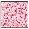 Seed Bead #2100 10/0 37175 Light Pink Opaque Ceylon (1/2 Kilo) (LOOSE) - CLEARANCE