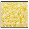 Seed Bead #2100 10/0 37186 Yellow Opaque Ceylon (1/2 Kilo) - CLEARANCE
