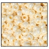 Seed Bead #2100 8/0 46113 Light Eggshell Opaque Ceylon (1/2 Kilo)
