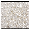 Seed Bead #2100 8/0 47102 Off White Opaque Ceylon (1/2 Kilo)
