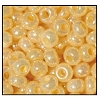 Seed Bead #2100 11/0 47112 Light Beige Opaque Ceylon (1/2 Kilo) - CLEARANCE