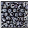 Seed Bead #2100 6/0 47125 Grey Opaque Ceylon (1/2 Kilo) - CLEARANCE