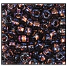 Seed Bead #2100 11/0 29019 Amethyst Transparent Copper Lined Iris (1/2 Kilo) - CLEARANCE