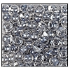 Seed Bead #2100 6/0 38642 Crystal/Grey Lined (1/2 Kilo) - CLEARANCE
