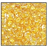 Seed Bead #2100 6/0 38683 Crystal/Yellow Lined (1/2 Kilo)
