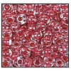 Seed Bead #2100 6/0 38695 Crystal/Red Lined (1/2 Kilo)