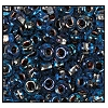 Seed Bead #2100 6/0 39039 Light Sapphire Transparent Copper Lined Iris (1/2 Kilo) - CLEARANCE