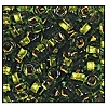Seed Bead #2100 11/0 59430 Peridot Transparent Copper Lined (1/2 Kilo)