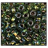 Seed Bead #2100 6/0 59439 Peridot Transparent Copper Lined Iris (1/2 Kilo) - CLEARANCE