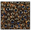 Seed Bead #2100 6/0 91004 Orange Transparent/Blue Lined (1/2 Kilo) - CLEARANCE
