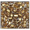 Seed Bead #2100 10/0 68106 Crystal Transparent Gold Lined (1/2 Kilo)