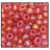 Seed Bead #2100 11/0 07122M Deep Rose Transparent Matt Iris (1/2 Kilo) - CLEARANCE