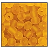 Seed Bead #2100 6/0 10050M Topaz Transparent Matt (1/2 Kilo) - CLEARANCE