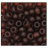 Seed Bead #2100 6/0 10090M Smoke Topaz Transparent Matt (1/2 Kilo) (LOOSE) - CLEARANCE