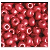 Seed Bead #2100 6/0 16699 Light Burgundy Opaque Matt Pearl (1/2 Kilo) - CLEARANCE