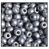 Seed Bead #2100 11/0 16743 Pewter Opaque Matt Pearl (1/2 Kilo) - CLEARANCE