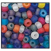 Seed Bead #2100 6/0 19789M Multi Transparent Matt Iris (1/2 Kilo) - CLEARANCE
