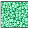 Seed Bead #2100 11/0 23520 Mint Opaque Matt Pearl (1/2 Kilo) - CLEARANCE