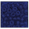 Seed Bead #2100 6/0 30100M Cobalt Transparent Matt (1/2 Kilo) - CLEARANCE