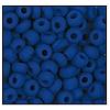 Seed Bead #2100 6/0 33050M Medium Blue Opaque Matt (1/2 Kilo) - CLEARANCE