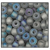 Seed Bead #2100 6/0 41010M Smoke Grey Transparent Matt Iris (1/2 Kilo)