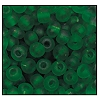 Seed Bead #2100 6/0 50060M Forest Green Transparent Matt (1/2 Kilo)