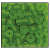 Seed Bead #2100 6/0 50430M Green Transparent Matt (1/2 Kilo)